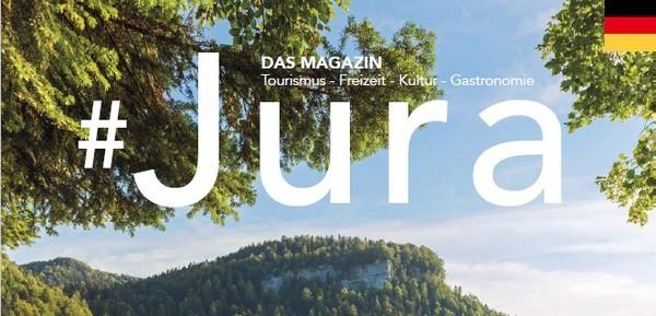 Sortie du magazine #JURA en anglais et en allemand