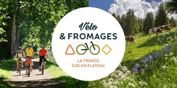 Vélo et Fromages, à la découverte des Départements