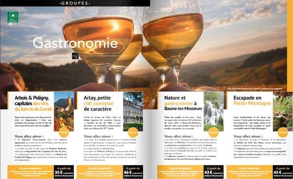 Nouvelle brochure groupes et individuels Jura