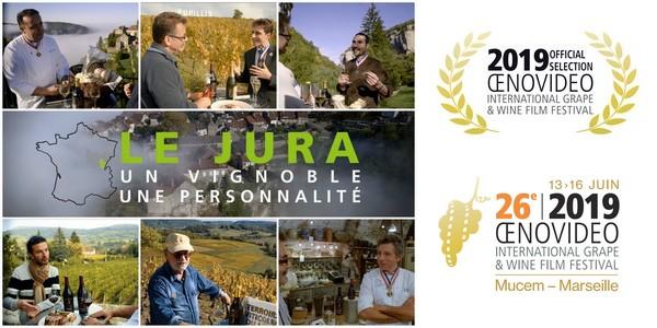 Le Vignoble du Jura récompensé au 26ème Festival Oenovidéo