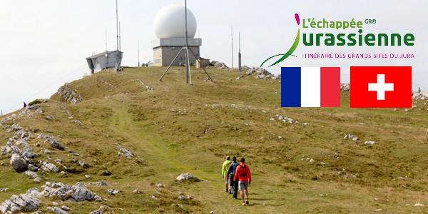 Projet Échappée Jurassienne Franco-Suisse