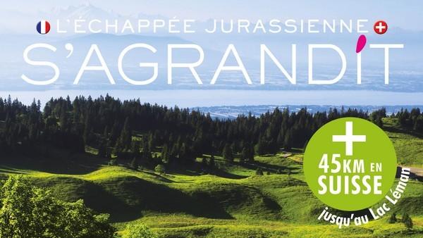 L'Échappée Jurassienne s'ouvre à la Suisse !