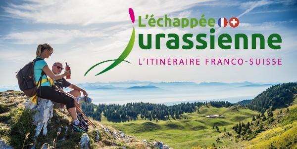 Un nouveau logo et un nouveau positionnement pour l'Échappée Jurassienne Franco-Suisse